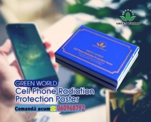 Autocolant de protecție pentru telefonul mobil împotriva radiației