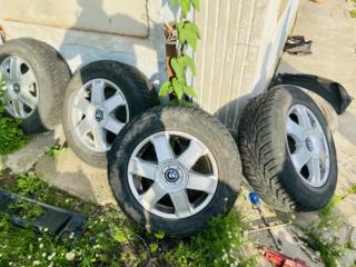 200$ Продам диски с резиной на BMW Х5 R17 комплект
