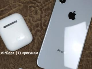 APPLE X в комплекте с оригинальными наушниками (торг)