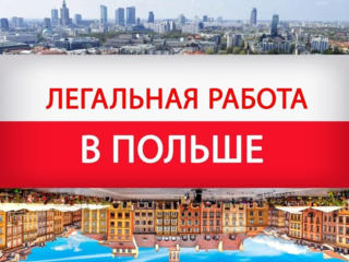 Работа в Польше для тебя!