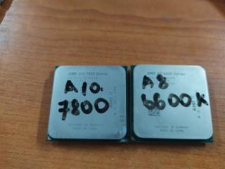 Мощные процессоры сокет FM2 4 ядра, A10-7800, A8-6600k