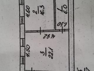 2к, кв., 55кв. м., в центре, Проспект Центральный - Инженерная