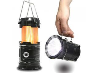 Кемпинговый фонарь с эффектом огня  Цена 155 руб