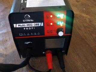 Сварочный полуавтомат инвертор Сталь MULTI-MIG-285 PROFI