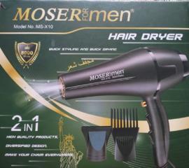 MOSER hair dryer 2x1 Фен новый в упаковке!