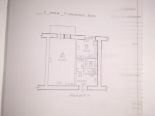 1-комнатная в центре Слободзее