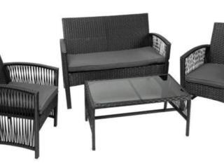 Садовая мебель из ротанга набор мебели для дачи