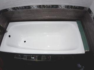 Реставрация ванн советского производства.