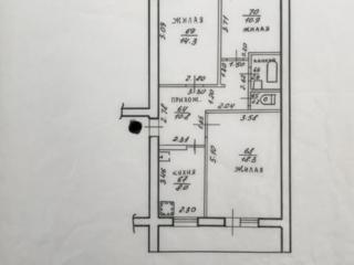 Продам 3-х комнатную квартиру в г. Днестровск