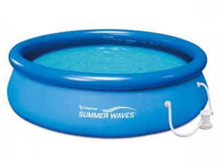 Бассейн 3200 л, 305x76 см Polygroup Summer Waves+