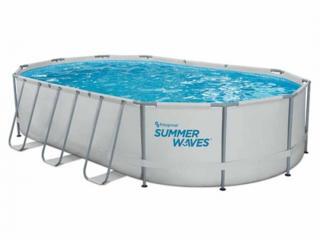 Бассейн 18200 л, 610x366x122 см Polygroup Summer Waves -- ДОСТАВКА
