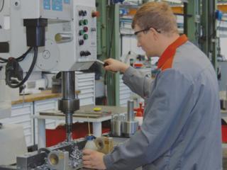 Германия завод по производству систем отопления.