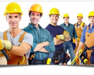 Строительная компания нанимает сотрудников.