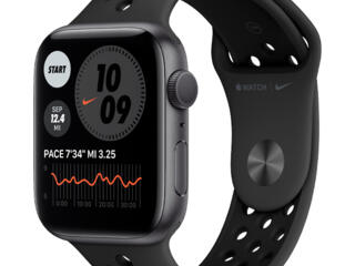 Apple Watch Nike Serie 6 44mm Aluminum Case With Anthracite Black Spor