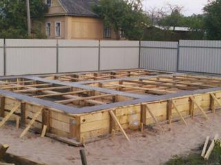 Штукатурка, стяжка, бетонирование, фундаменты