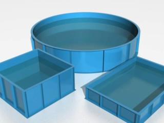Изготавливаем бассейны из полипропилена по вашим размерам
