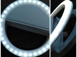 Световое кольцо для селфи на телефон