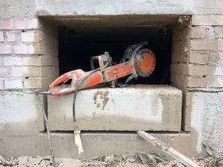 Бетоновырубка алмазная резка бетона стен перегородок перекрытий бетонных полов алмазное