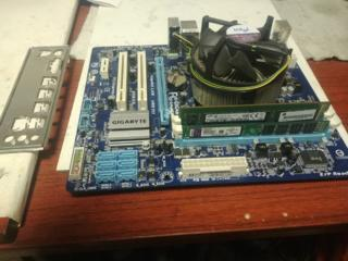 Продам комплект Intel Core i7 8 GB DDR3