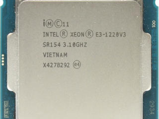 Xeon e3-1220v3 Socket LGA1150