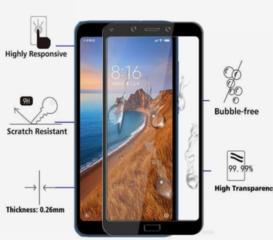 Защитное закалённое стекло для Сяоми Redmi Note 5A