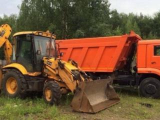 Доставка чернозема глины вывоз строительного мусора хлама .