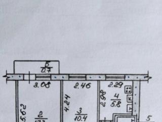 В продаже 2-комнатная квартира на Энгельса, 3-й этаж