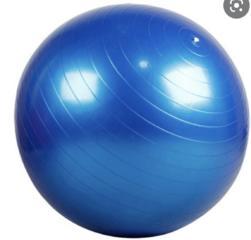 Мяч гимнастический, фитбол, синий