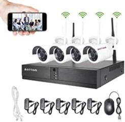 Wi-Fi видеонаблюдение. Комплект 4 камеры и регистратор всего 3500 лей