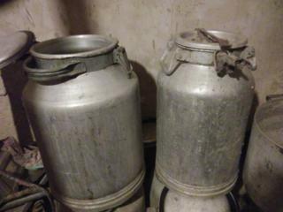 Алюминиевые молочные бидоны