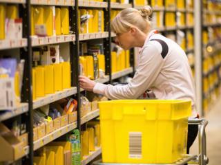 Работа на складах одежды, косметики и обуви. Германия, г. Мюнстер.