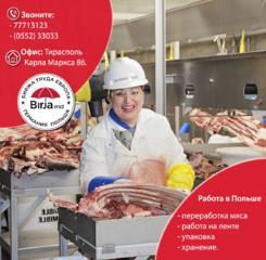 Завод по переработке говядины и свинины. Польша- ŁUKÓW.