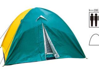 Палатка трехместная с тентом для кемпинга и туризма SY-029 цвета в асс