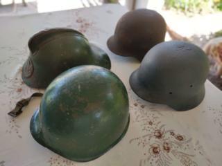 Продам коллекцию стальных шлемов (каски)