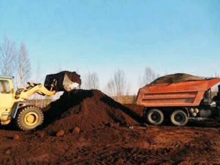 Доставка чернозема глины вывоз строймусора.