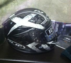 Шлем топовый HJC, куртка.