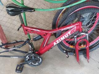 Велосипедная рама с перекидкой - 400 руб.