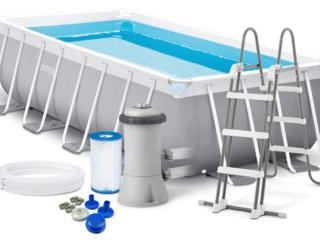 Продам каркасный бассейн INTEX 400 х 200 х 100 см