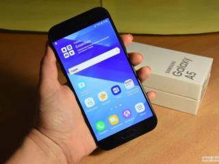 Samsung A5 (А520F, 1 сим карта) б/у + новый чехол Samsung