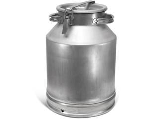 Фляги молочные алюминиевые (Бидоны) 40л