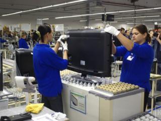 Работа. Завод Филипс. Польша.