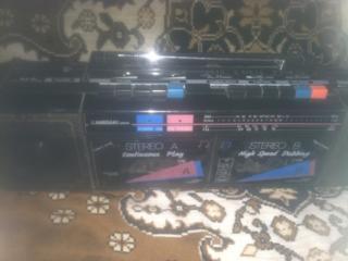 ПТ - 303 УКРАИНА -- 80 РУБ., магнитофон 2- кассетный kawasaki