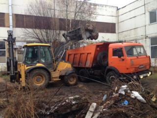 Вывоз строймусора доставка чернозёма услуги транспорта спецтехники и рабочи