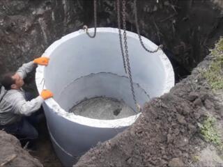 Копаем канализации траншеи сливные ямы септики водопровод доставка установ
