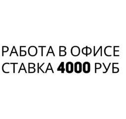 Работа с онлайн магазинами России. Оклад 4000 руб