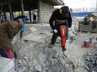 Бригада демонтажные работы резка стен бетоновырубка алмазное сверления буре