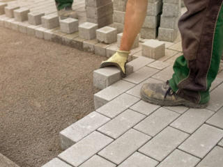 Укладка тротуарной плитки от 10 м2