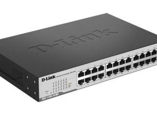 Сетевой коммутатор (свитч) SWITCH D-LINK DGS-1100-24/ME 24 порта