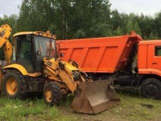 Доставка чернозема глины планировка облагораживание участков территории снос