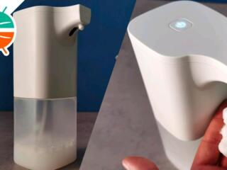 Автоматический диспенсер на батарейках дозатор для жидкого мыла для ванной
